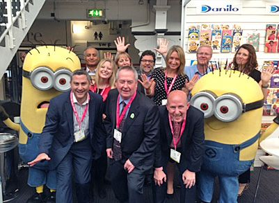 The Danilo Team with the Minions