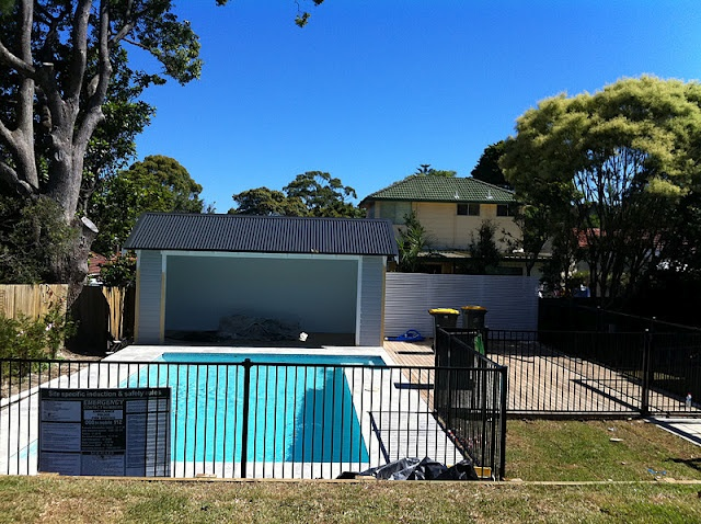 pool cabana open