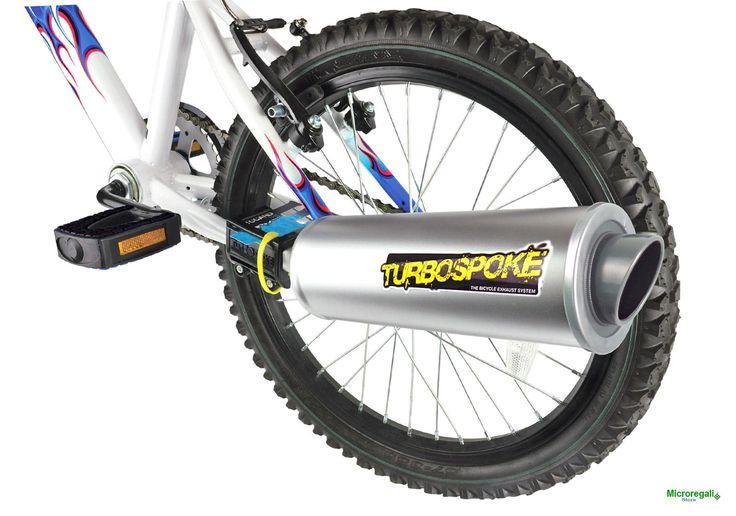 TURBOSPOKE Trasforma la tua bici in una Moto, crea il