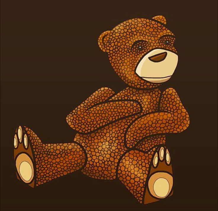 ~ Bear Illustration ~ ©Humlan & Bapan Artwork www.humlanbapan.se