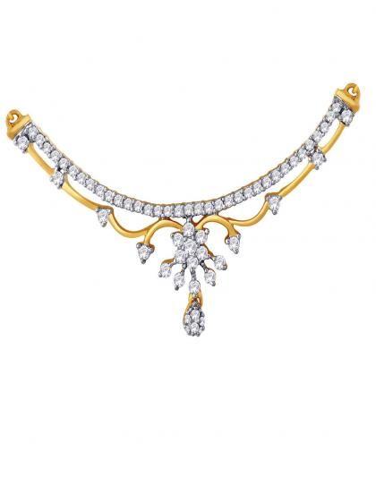 Nakshatra Diamond Necklace NTB030SI-JK