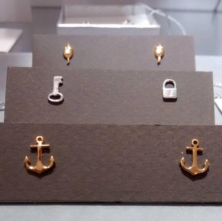 "#anchors #key & #padlock #mices #silver #gold  #zachjoyas @zachjoyas_co @tiendavesttigio"""