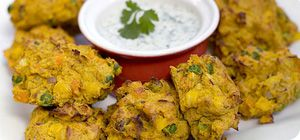 """This tasty veggie recipe was sent to us by member Katie Cockburn from Northamptonshire. """"These spicy vegetable pakoras are great for lunchboxes and make a lovely side dish for any Indian-style menu"""" She says."""