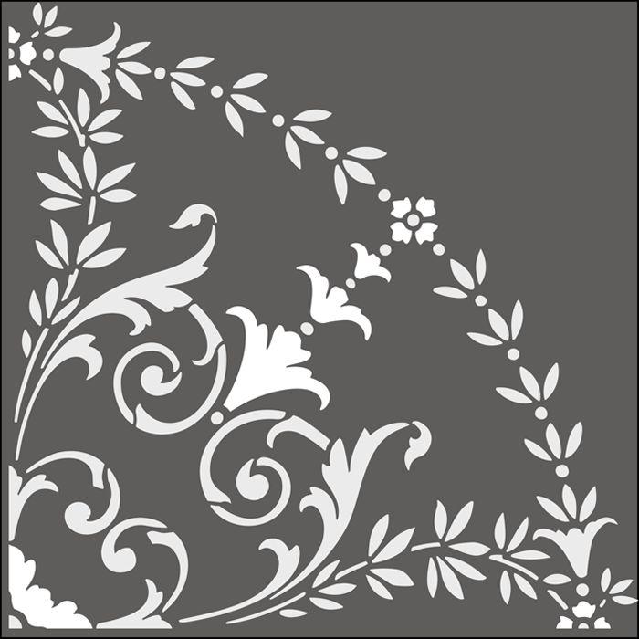 Regency and Empire  Quadrant No 2  stencils, stensils and stencles