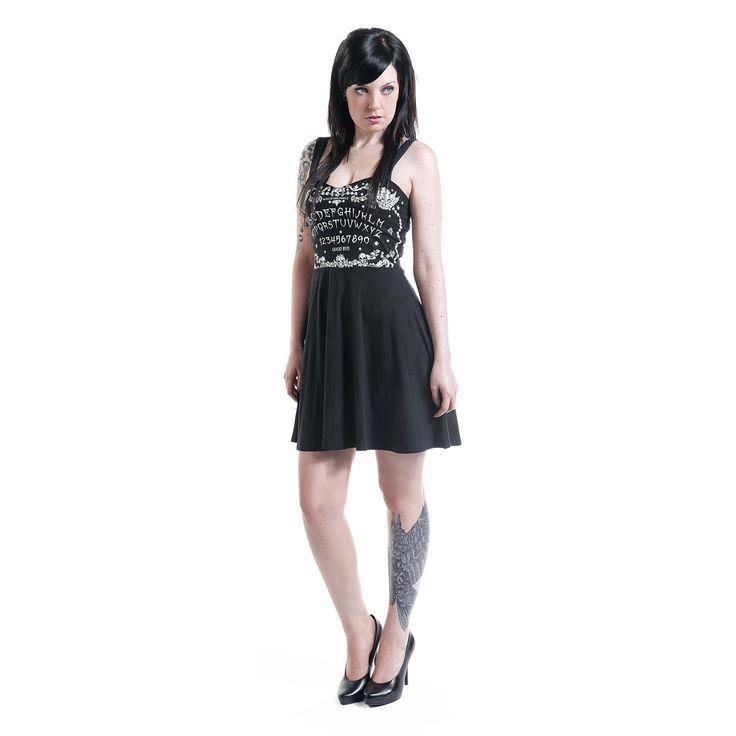 Jawbreaker Kort klänning »Ouija« | Köp i Sweden Rock Shop | Mer Rockkläder Korta klänningar finns online ✓ Oslagbara priser!
