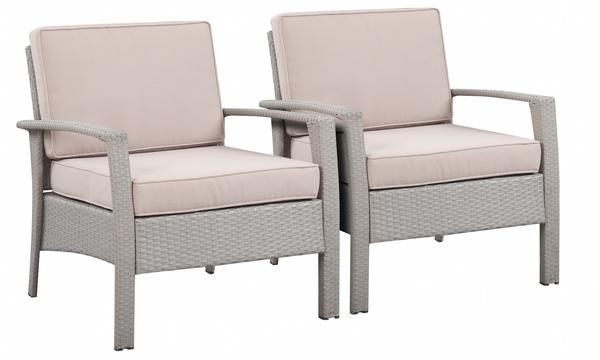 Laguna Beach Collection - Designer Outdoor Garden Patio 4-Piece Waterproof Cushion Rattan Wicker Loveseat Chair and Coffee Table Furniture Set.