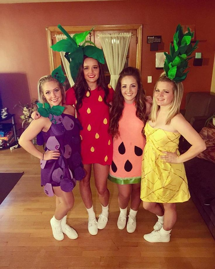 Group fruit costume!