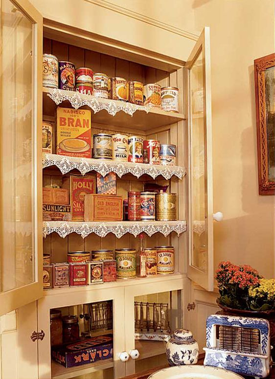70 Best Images About Retro Pantries On Pinterest Shelves Hoosier Cabinet And Pantry