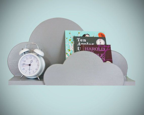 Hey, I found this really awesome Etsy listing at https://www.etsy.com/listing/161748548/cloud-wall-shelf-large-in-gray