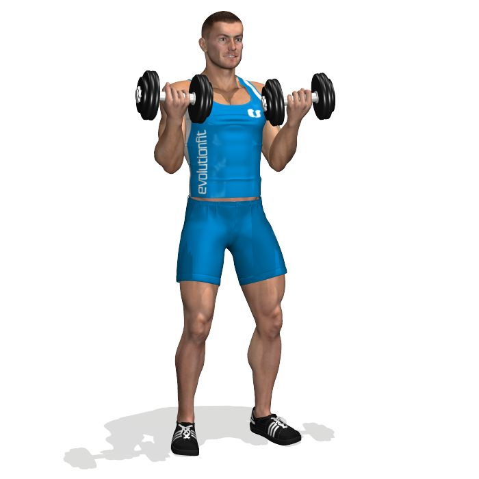 This is and essential exercise for biceps, it develops the volume and mass of the muscle.