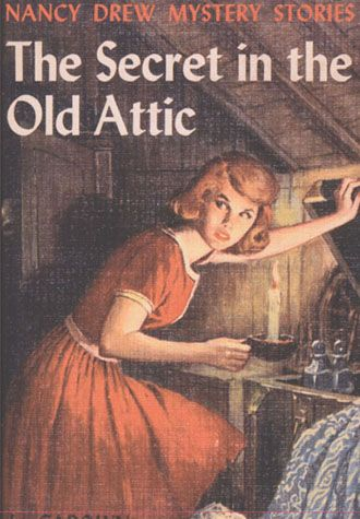 I loved my Nancy Drew books when I was a young girl.