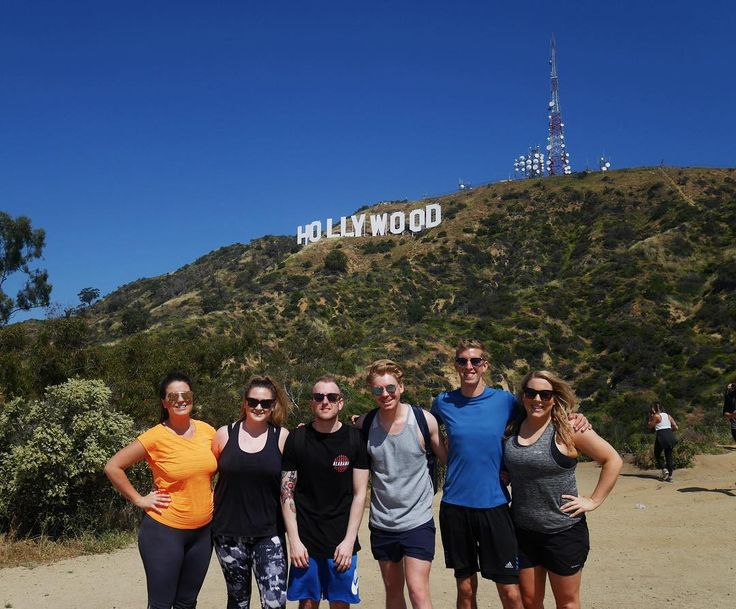 Hollywood hills hike walk of fame and watching the LA Dodgers win. Perfect way to start our adventure. Now onto San Francisco!  #californiaadventure #usaroadtrip