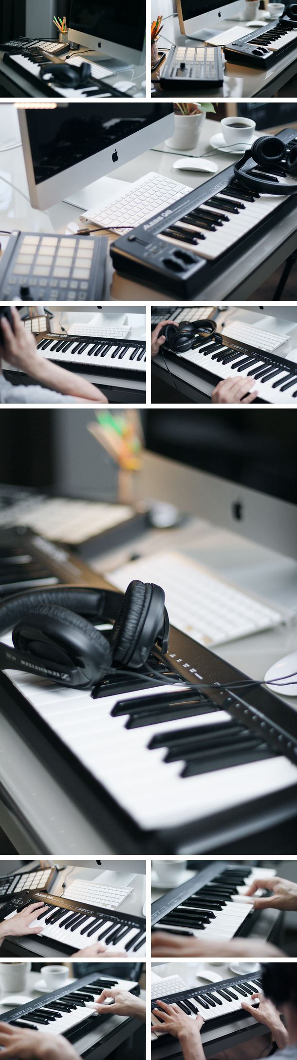 Music making and piano playing