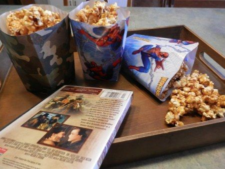 Copycat Cracker Jack Popcorn in 5 easy steps!