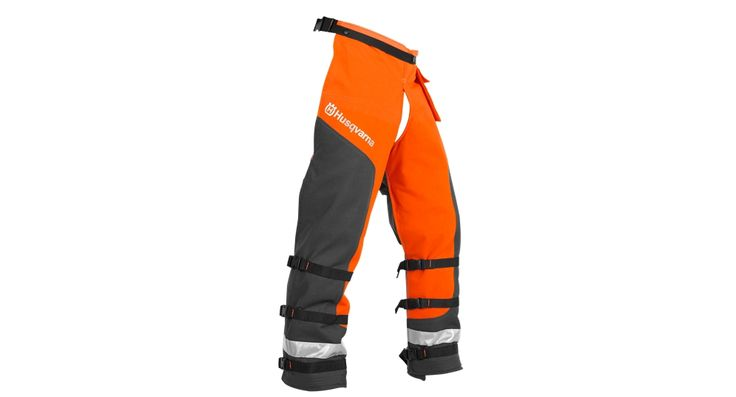 BOUGHT MY LOGGER THESE!! HE WAS DUE FOR A NEW PAIR, CAN'T GO WRONG W/ANYTHING PURCHASED FROM  HUSQVARNA!!                                                                                                                                                Technical Apron Wrap Chainsaw Chaps - Personal Protective Equipment