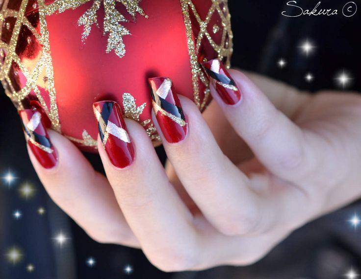 новогодний маникюр на нарощенные ногти: 18 тыс изображений найдено в Яндекс.Картинках