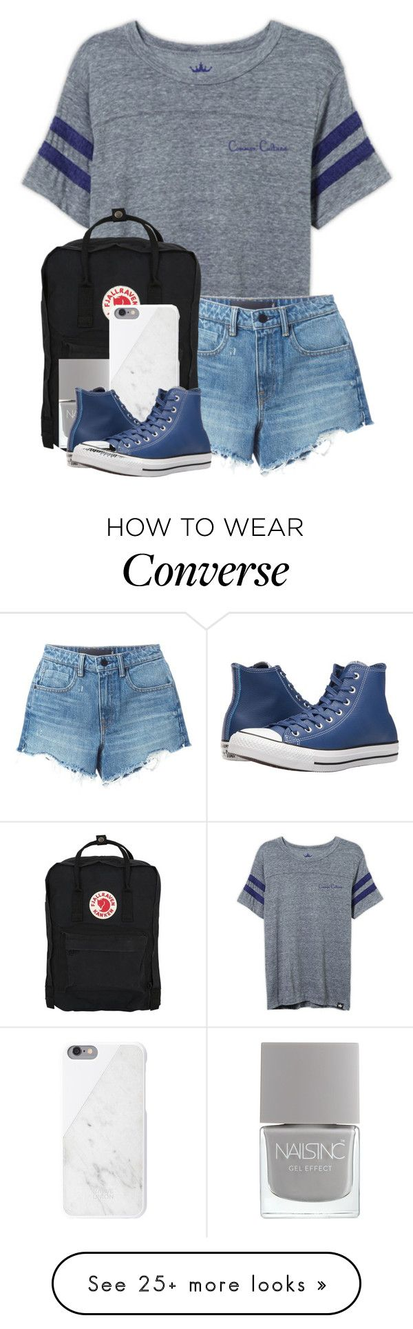 """""""Kylie's fourth birthday party ❤️"""" by questionable-desires on Polyvore featuring Alexander Wang, Fjällräven, Native Union and Converse"""
