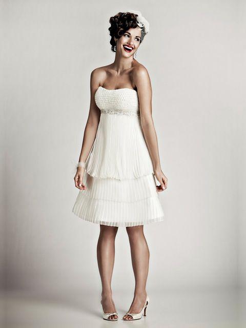 18 best vestidos de novia images on Pinterest | Marriage, Wedding ...
