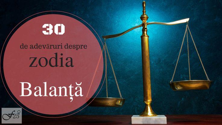 30 de adevăruri despre zodia BALANȚĂ  Super adevarate:)