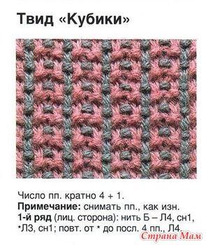 . Прошу помощи в схеме вязания - Вязание - Страна Мам