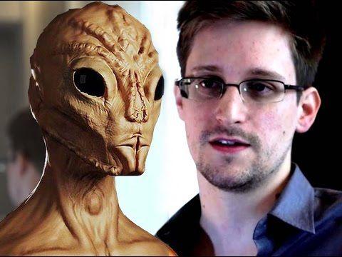 Edward Snowden dice que los extraterrestres viven entre nosotros y estan...