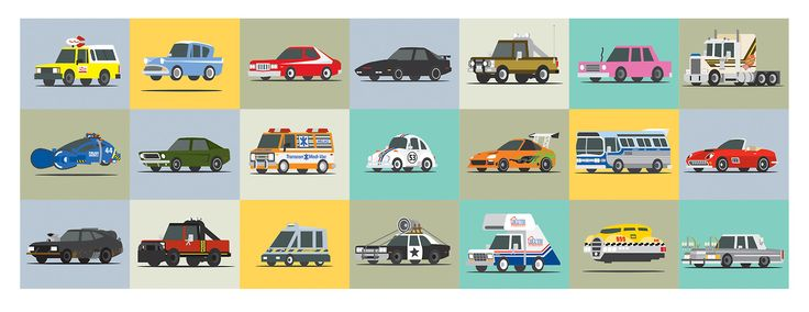 Awesome Movie Cars FanArt - News - GeekTyrant