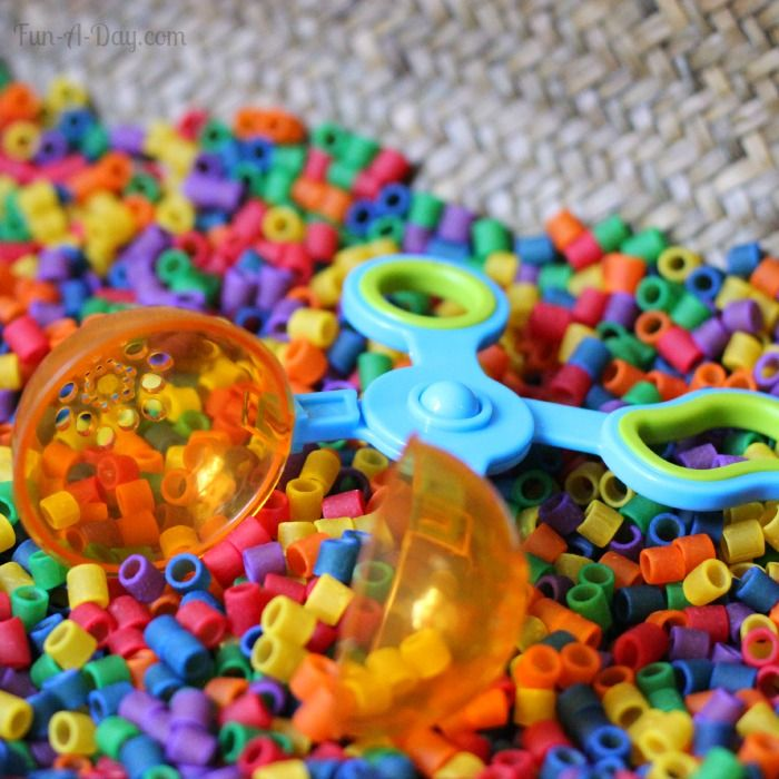 Colorful sensory activities for preschoolers - lots of learning and exploration for kids
