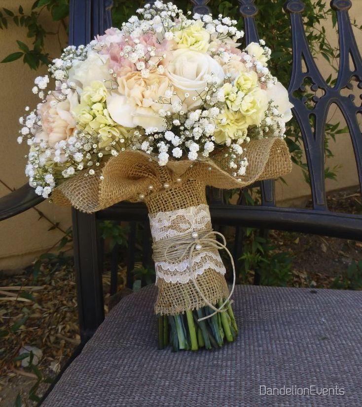 Las 25 mejores ideas sobre ramos de novia de yute en for Decoracion en cancun