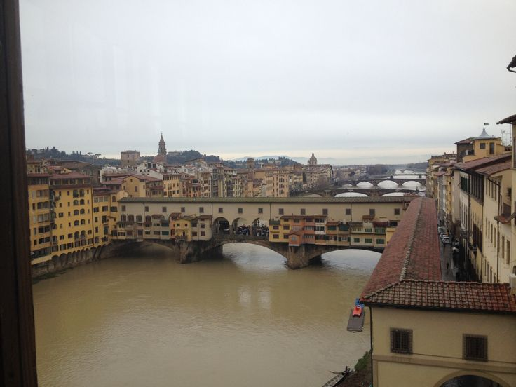 Ponte Vecchio dagl'Uffizi