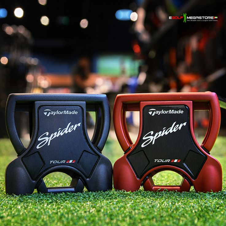 Designed for #JasonDay & #DustinJohnson #TaylorMade Spider Tour Putters. Roll it like the World's Best with premium putters built specifically for Tour⛳️ #PureRoll #SpiderTour #1PutterOnTour #eGolf #eGolfMegastore #golfuae #golfdubai #2017putters