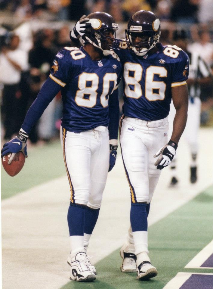 My All-Time favorite receiving duo WR Cris Carter & WR Jake Reed (1999) Minnesota Vikings 2013