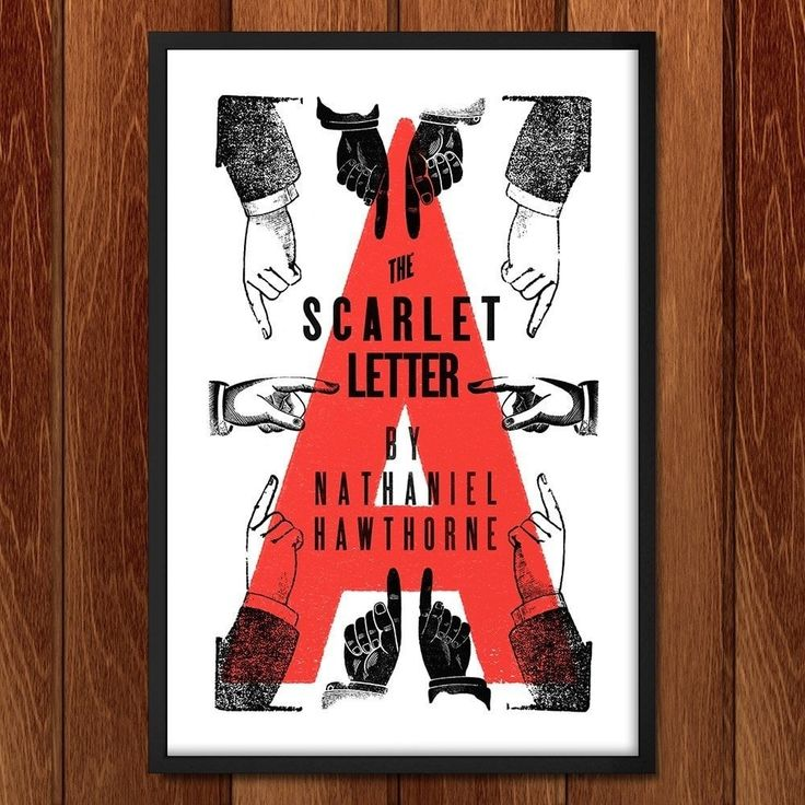 Scarlet Letter Cover: The Scarlet Letter By Mr. Furious