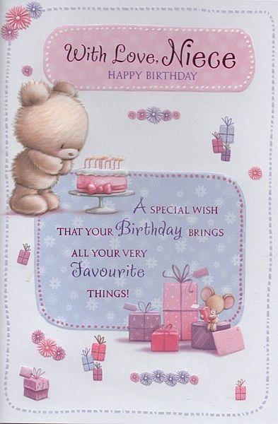 happy birthday my niece - Google Search | teddy ...