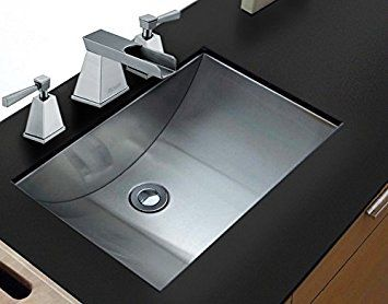 Image result for stainless steel bathroom sinks