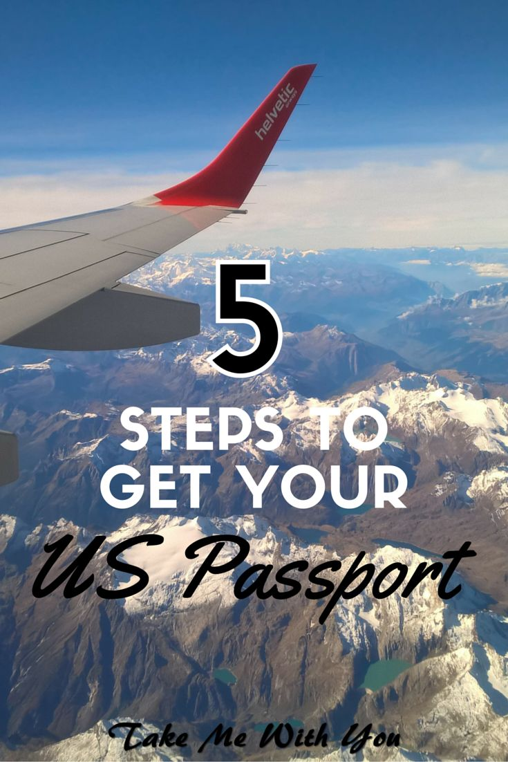 5 steps to getting your USA passport - everything you need to know about applying for a passport [fees, timing, quick fixes, emergency info, the works!]