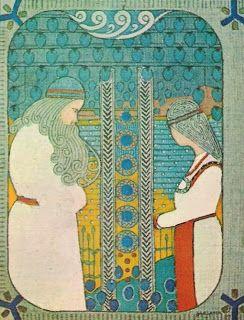Beatiful work of Joseph Alanen. Väinämöinen and Aino.