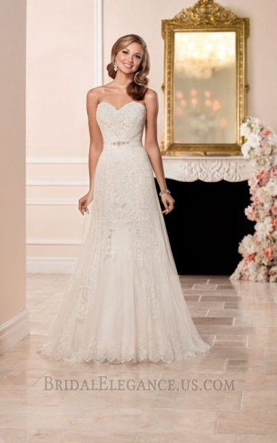 French Tulle & Lace Wedding Gown | Bridal Elegance