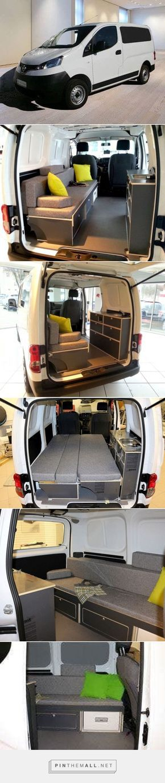 Bett-Sofa für Nissan NV200 Mini-Camper in Wetzikon kaufen bei ricardo.ch - created via https://pinthemall.net