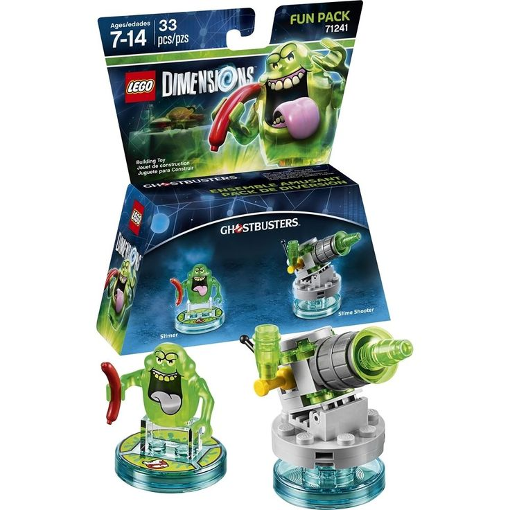 Lego - Dimensions The Ghostbusters Fun Pack - Multi