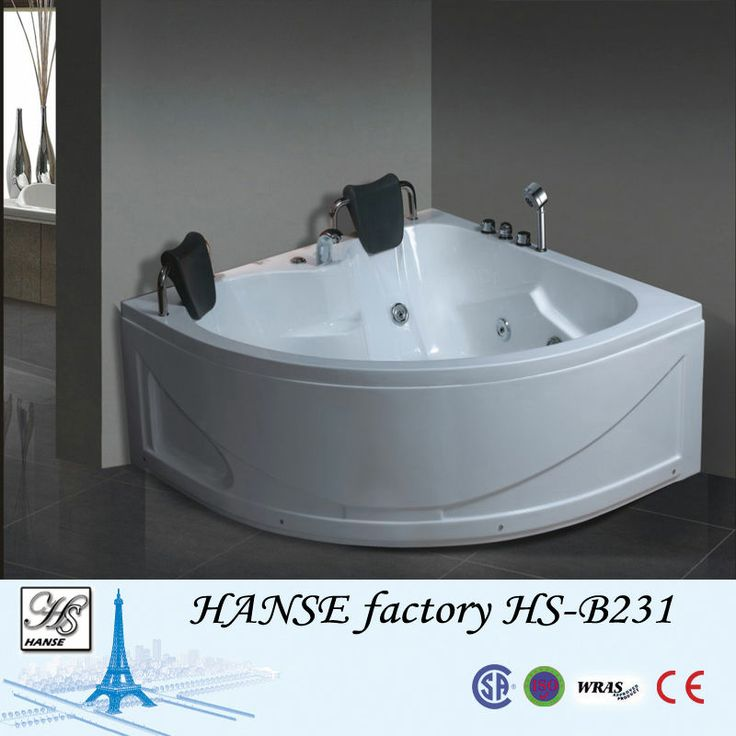 1000 images about triangle tubs on pinterest massage bath tubs and bathing - Triangular bathtub ...