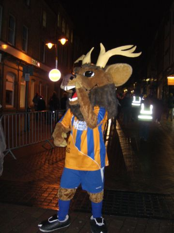 Mansfield Town - Sammy the Stag.