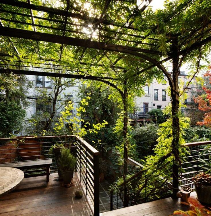 Backyard Architect Part - 49: Brooklyn Based Architect And Landscape Architect Kim Hoyt. Photo Of Park  Slope, Brooklyn Deck