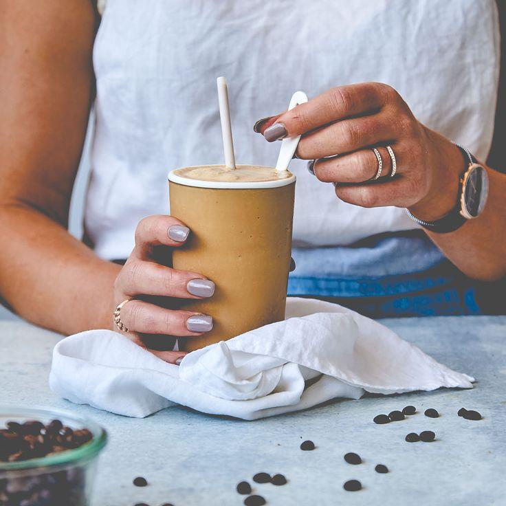 THERMOMIX CREAMY VEGAN COFFEE FRAPPE