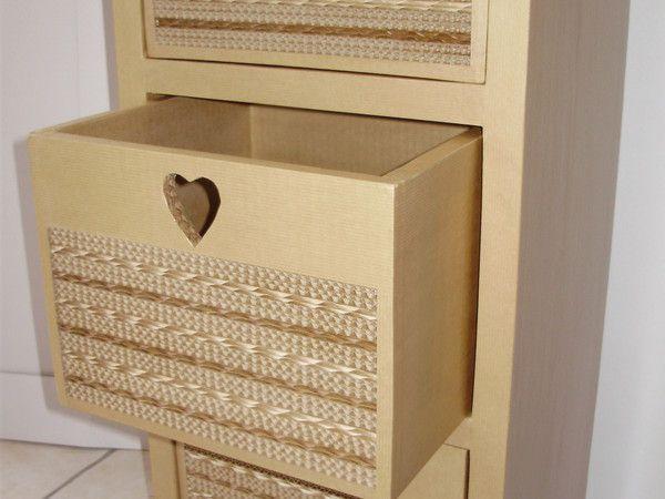 107 best meuble en carton images on Pinterest Cardboard furniture