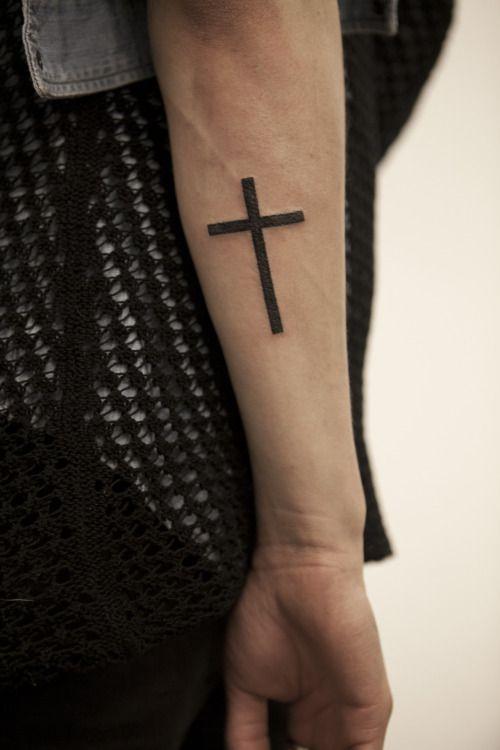 Best 25+ Pretty cross tattoo ideas on Pinterest | Simple ... | 500 x 750 jpeg 38kB