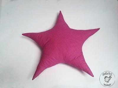 star pillow #star #starfish #pillow #cotton #handmade #kokoart #handmadedecor #decor #design