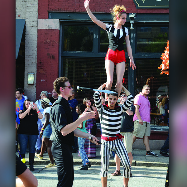 Another street festival we were performing at! It gets a little crazy sometimes at these street festivals, knifes being juggled, performers leaping and tumbling... But you know what, the guests just love it!   #StreetFestival #StreetPerformance #TheImperialOPA #Circus #Atlanta #OPA #AtlantaCircus ------------- #1 rated entertainment booking company in GA!   Contact us today and lets make unforgettable events together!