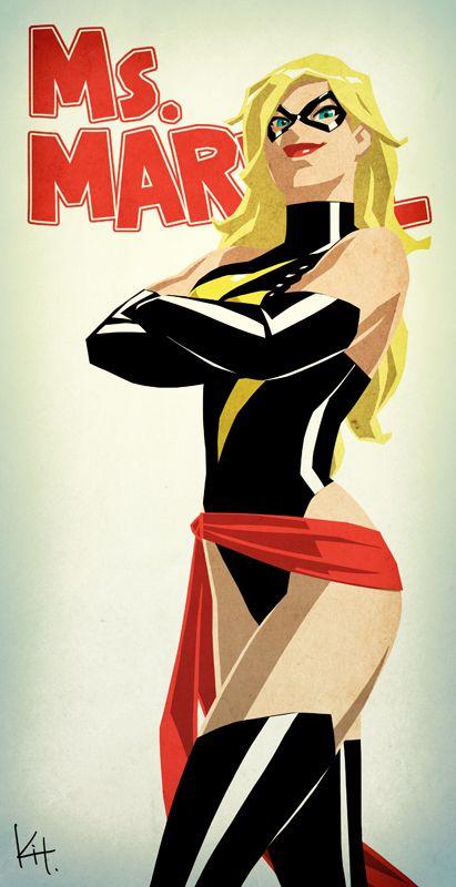 More Cool Marvel and DC Female Superhero Portraits - News - GeekTyrant
