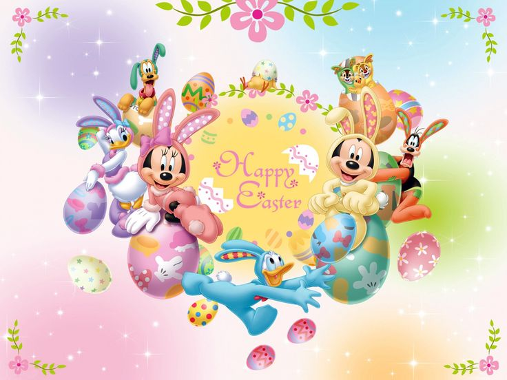 iCLIPART - Royalty Free Cartoon Clipart Image of an Easter Bunny ...