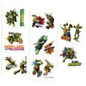 Teenage Mutant Ninja Turtles Tattoos 16ct - Party City
